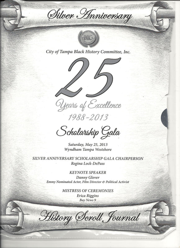 05 25 2013 City of Tampa Black History Committee Silver Anniversary