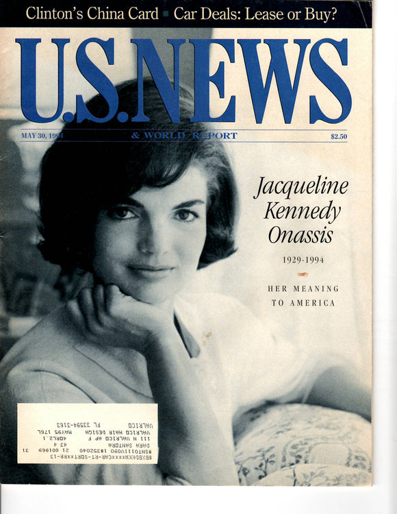 05 30 1994 US News Jackie Kennedy