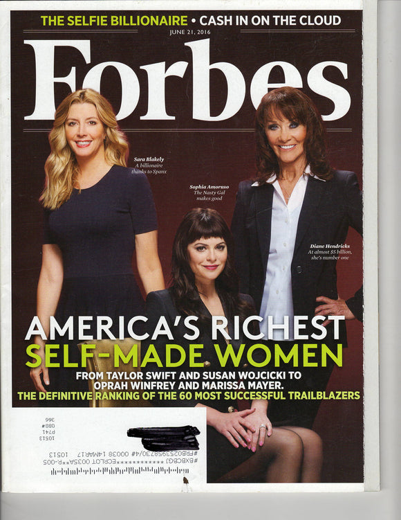 06 12 2016 Forbes Self-Made Women