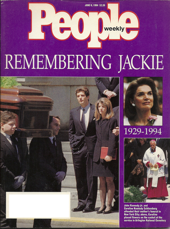 06 06 1994 People Magazine Jackie Kennedy Onassis