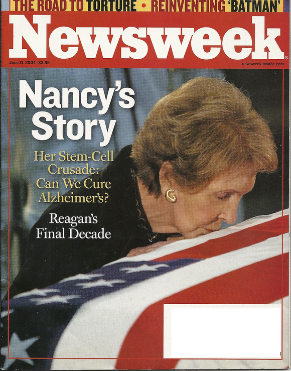 06 21 2004 Newsweek - Nancy Reagan