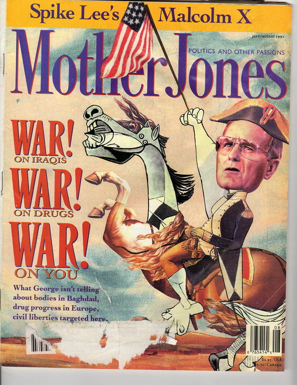 07 00 1991 Mother Jones - George Bush