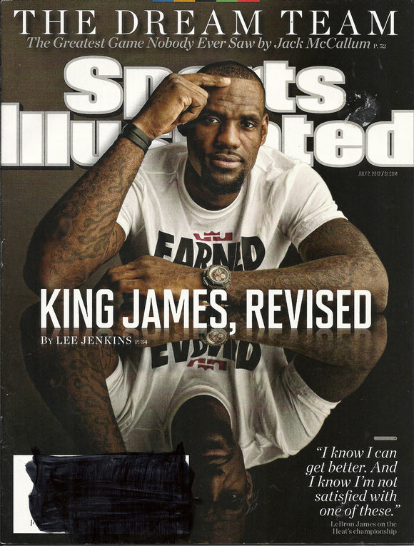 07 02 2012 Sports Illustrated LeBron James