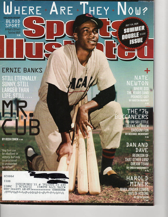 07 07 2014 Sports Illustrated Ernie Banks