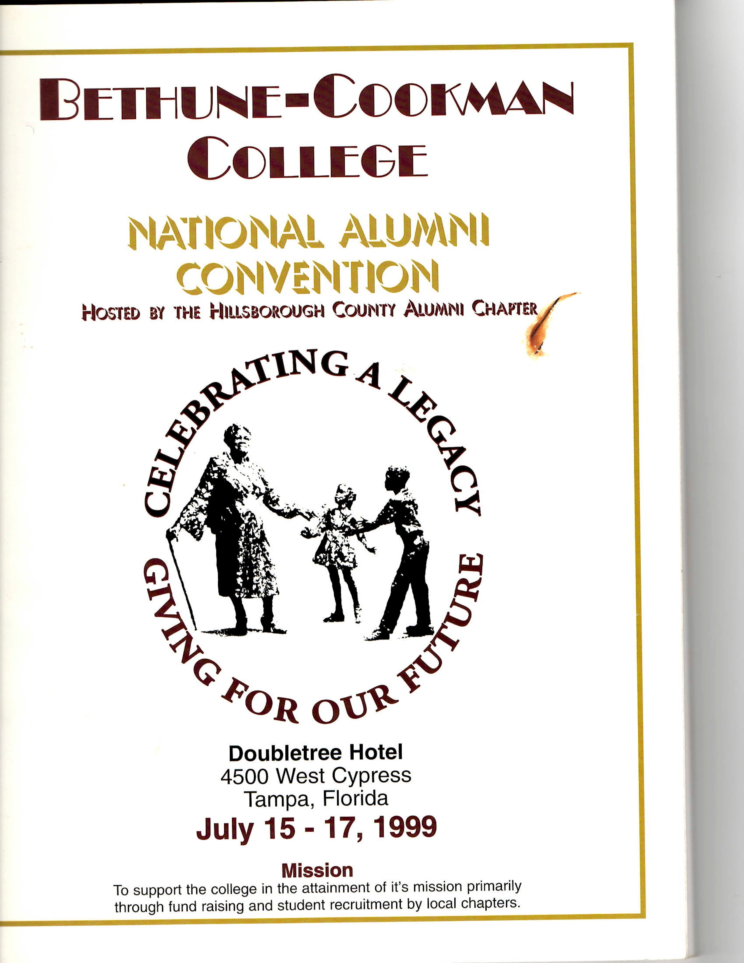 07 15 1999 Bethune Cookman College Alumni Convention