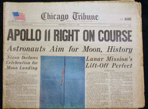 07 17 1969 News Chicago Tribune - Apollo II
