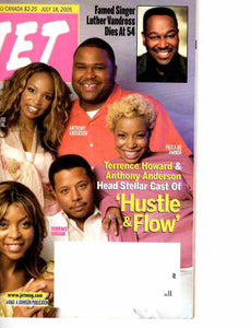 07 18 2005 Luther Vandross Cast of Hustle & Flow