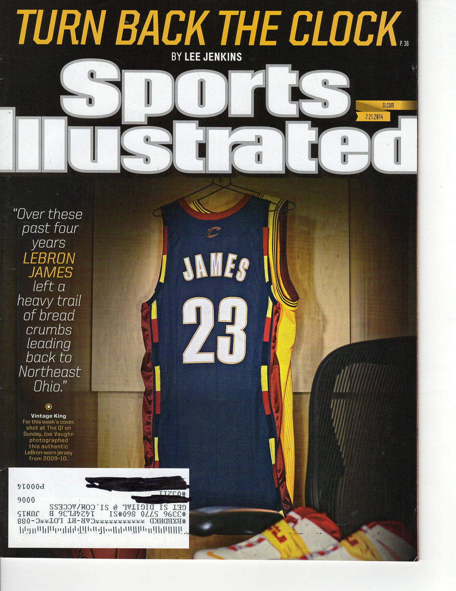 07 21 2014 Sports Illustrated Lebron James