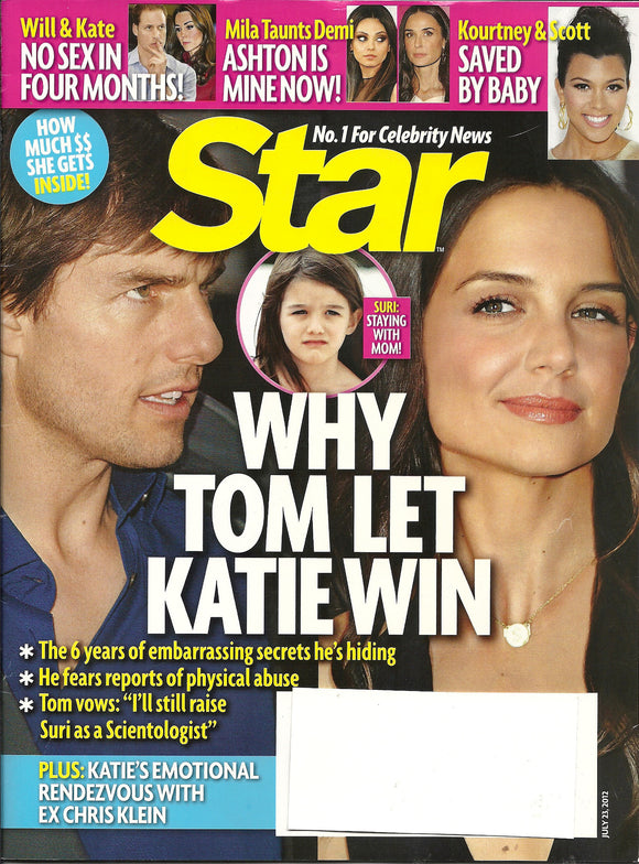 07 23 2012 Star Tom and Kate
