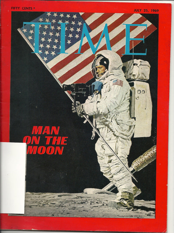 07 25 1969 Time - Man on the Moon