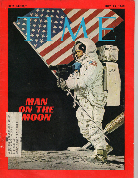 07 25 1969 Time Man on the Moon
