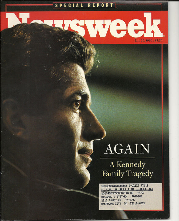 07 26 1999 Newsweek JF Kennedy Jr