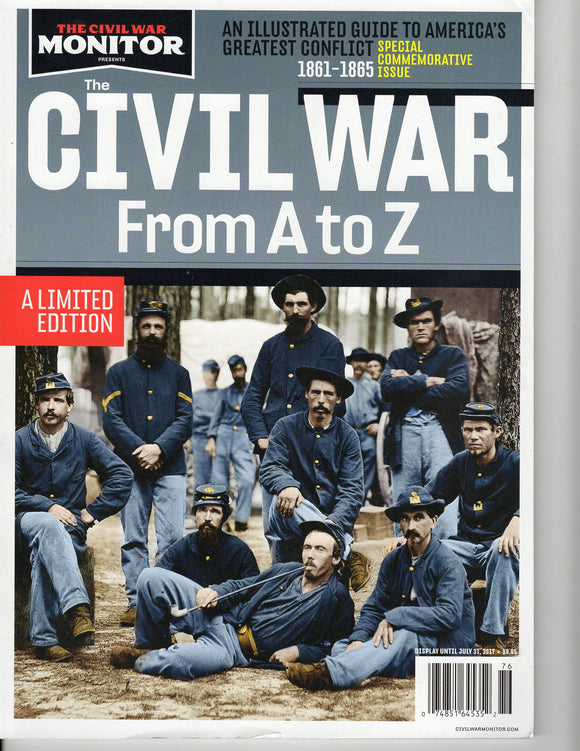 07 31 2017 The Civil War Monitor - Civil War From A to Z