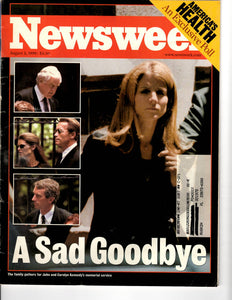 08 02 1999 Newsweek JF Kennedy Jr Caroline