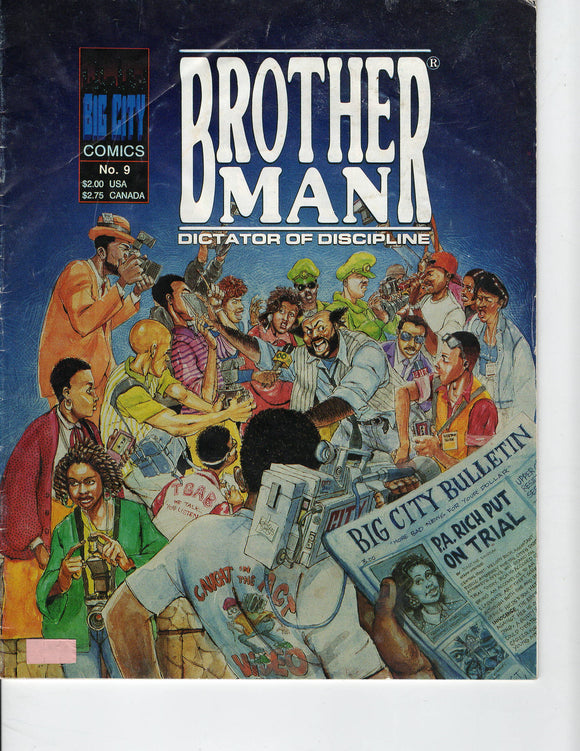 09 00 1993 Brother Man Comic