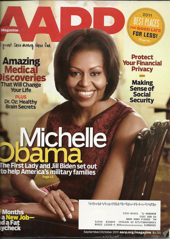 09 00 2011 AARP Michelle Obama