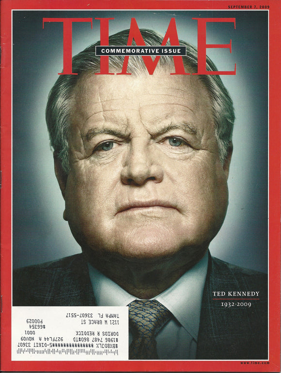 09 07 2009 Time Ted Kennedy