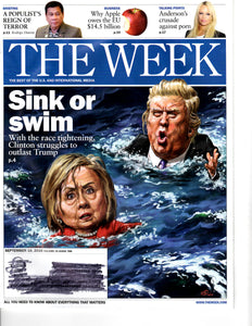 09 16 2016 The Week Hillery Clinton Donald Trump