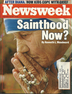 09 22 1997 Newsweek Mother Theresa