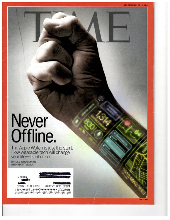 09 22 2014 Time Never Offline