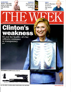 09 23 2016 The Week Hillery Clinton