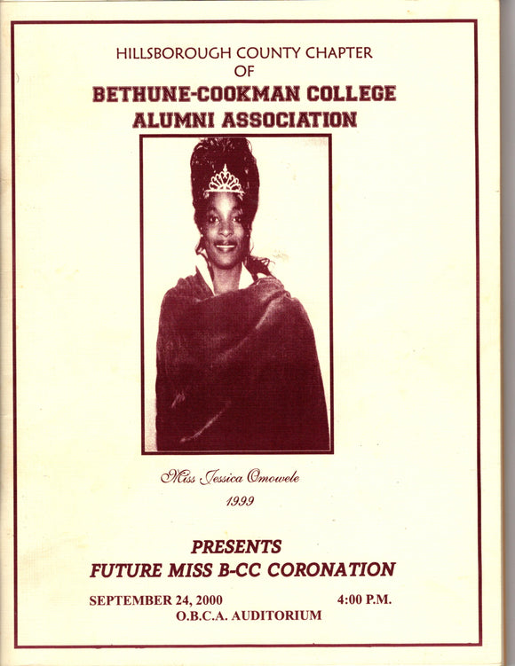 09 24 2000 Bethune Cookman Coronation