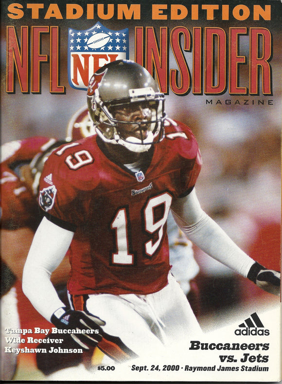 09 24 2000 NFL Insider Keyshawn Johnson Stadium Edition