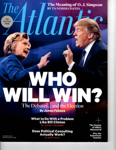 10 00 2016 The Atlantic Hillery Clinton  Donald Trump
