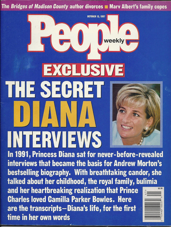 10 13 1997 People Princess Diana