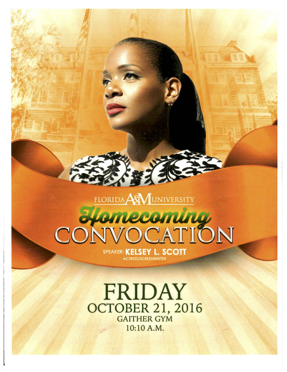 10 21 2016 FAMU Homecoming Convocation