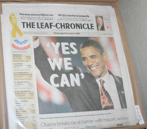 11 05 2008 Obama Leaf Chronicle