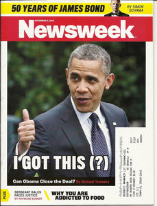 11 05 2012 OBAMA Newsweek magazine