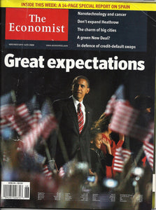 11 08 2008 OBAMA The Economist Magazine