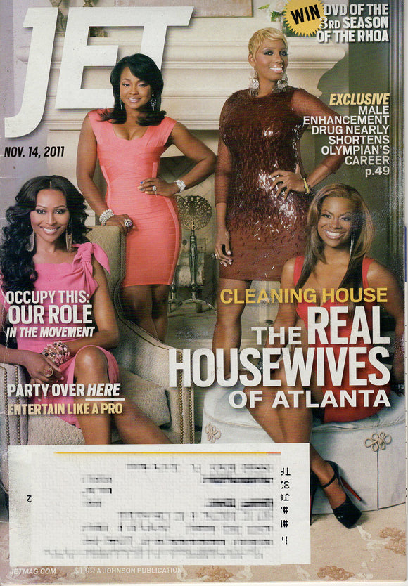 11 14 2011 JET Magazine - The Real Housewives of Atlanta