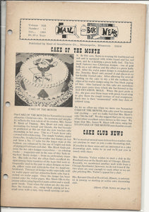 11 00 1969 Mail Box News Cake of the Month