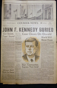 11 25 1963 NEWS John F Kennedy Buried