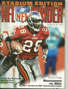 11 26 2000 NFL Insider Warrick Dunn Stadium Edition