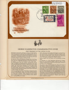 12 14 1974 FDC WH Washington 175th