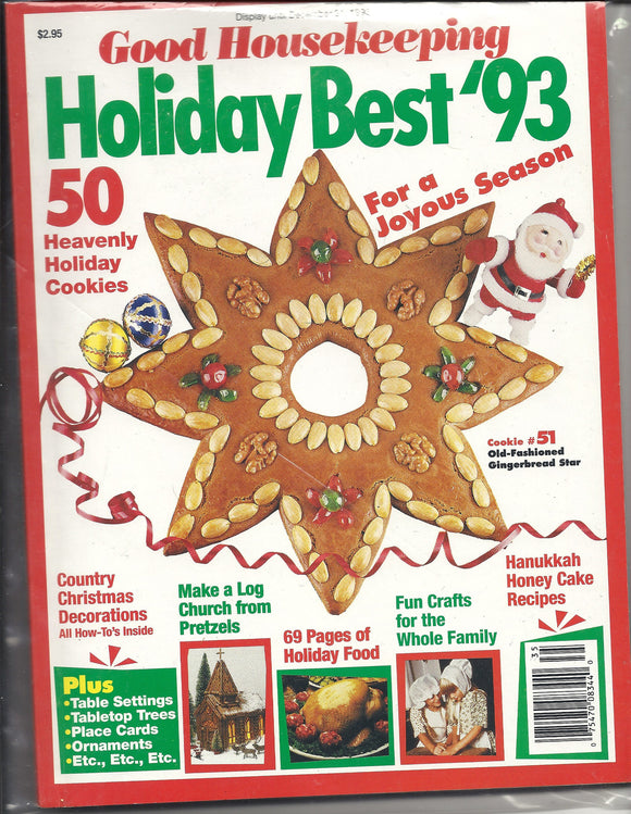 12 31 1993 Good Housekeeping Holiday Cookies