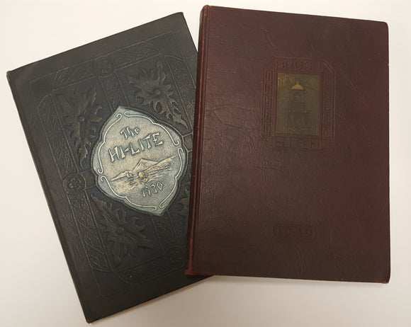 1929 1930 YEARBOOK SET - Charles F. Brush