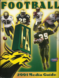 2001 USF Football Media Guide