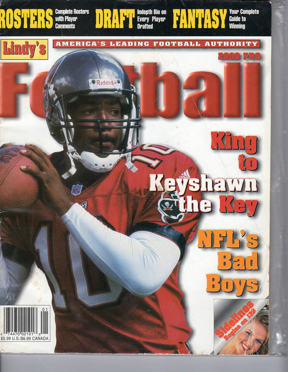 2000 Lindy's Pro Football Shaun King