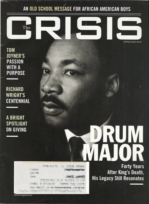 2008 Crisis Martin Luther King