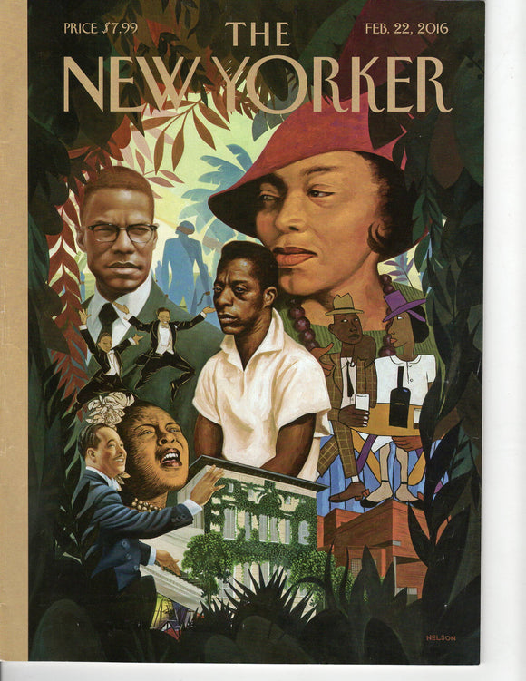 02 22 2016 New Yorker - Black History
