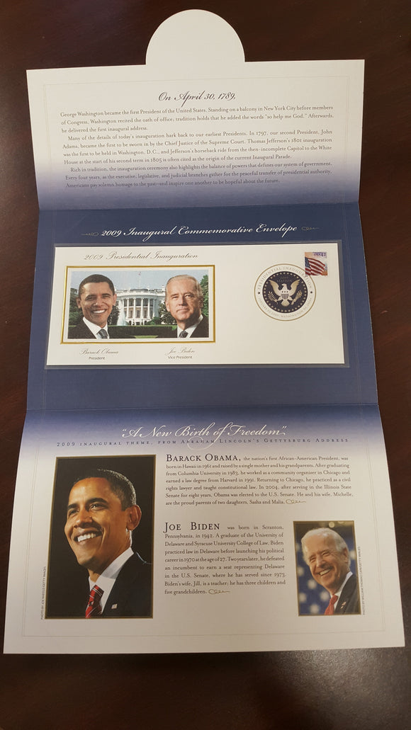 01 20 2009 FDC WH Obama Inauguration Day