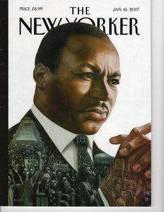 01 16 2017 New Yorker - Martin Luther King Jr