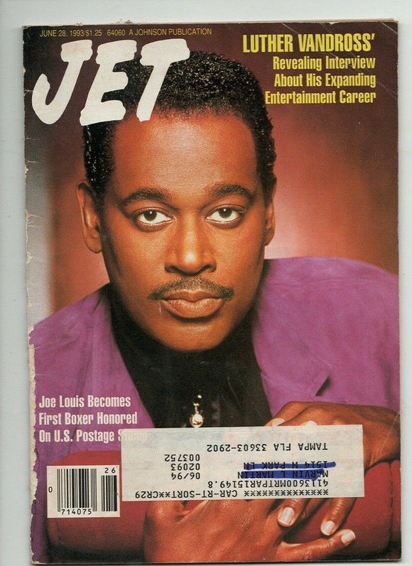 01 18 1993 Jet Magazine Luther Vandross