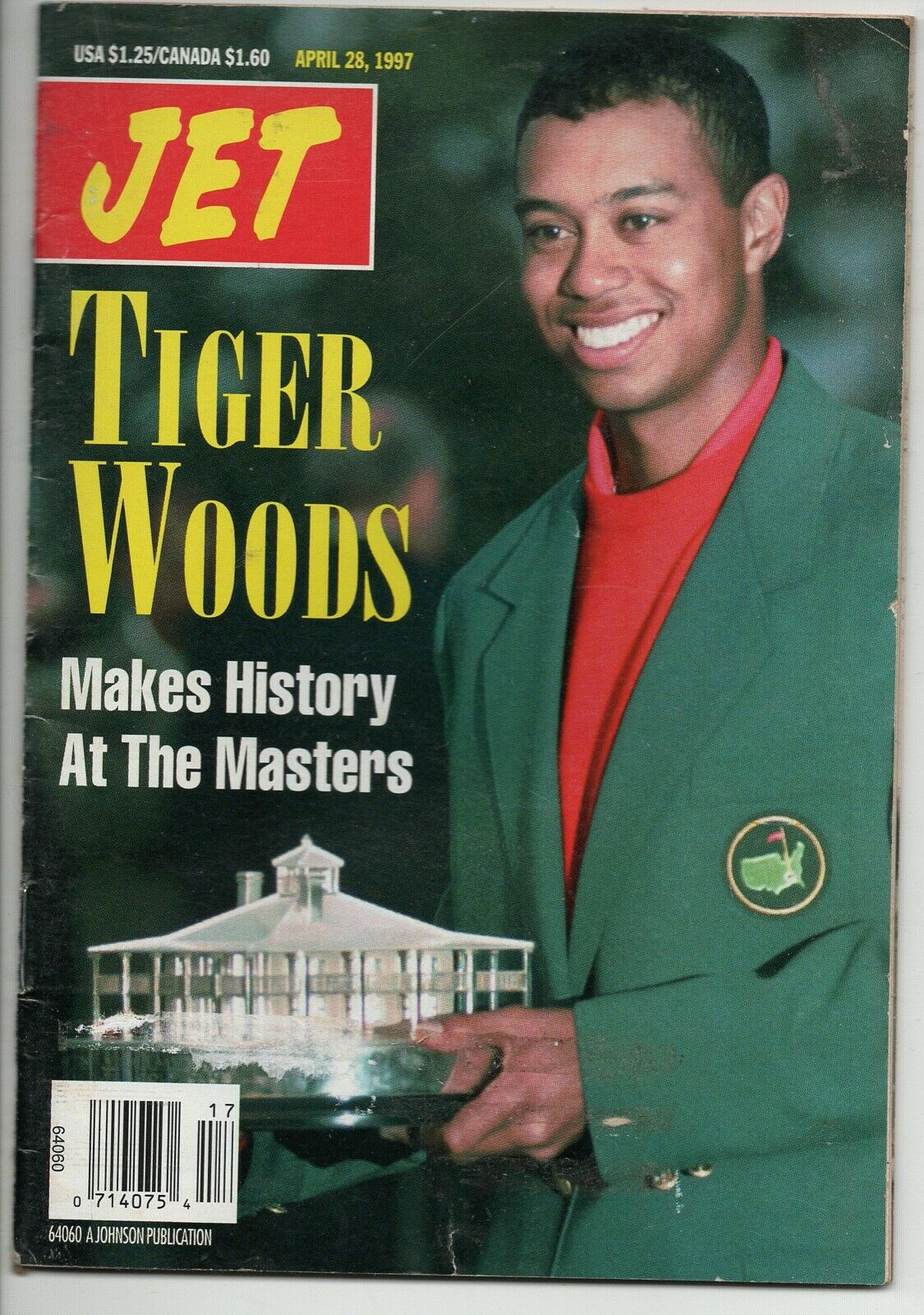 04 28 1997 Jet Magazine Tiger Woods