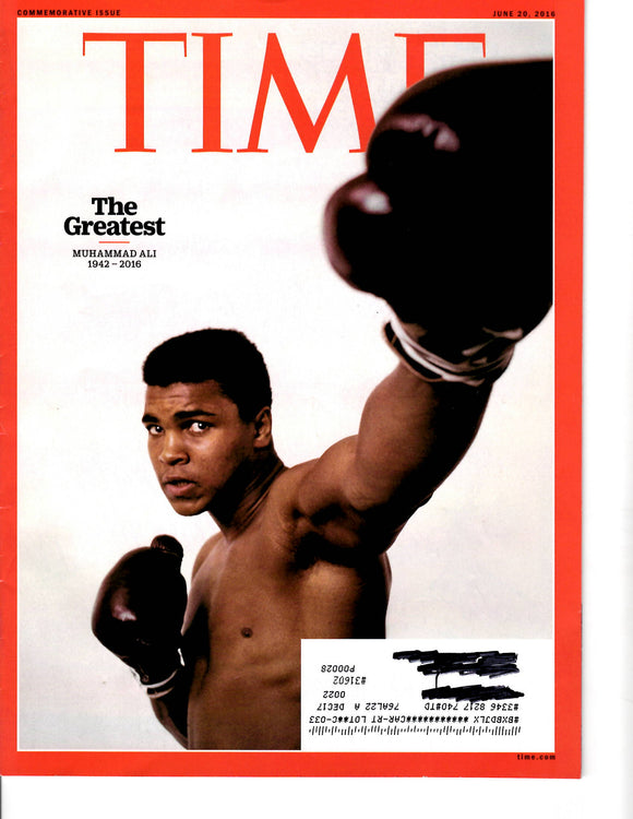 06 20 2016 TIME The Greatest Muhammad Ali