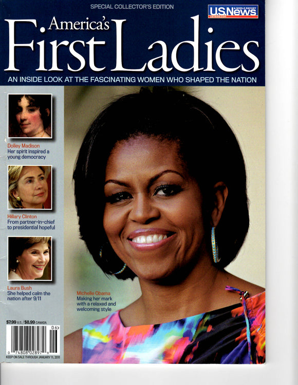01 11 2011 OBAMA, MICHELLE FIRST LADIES